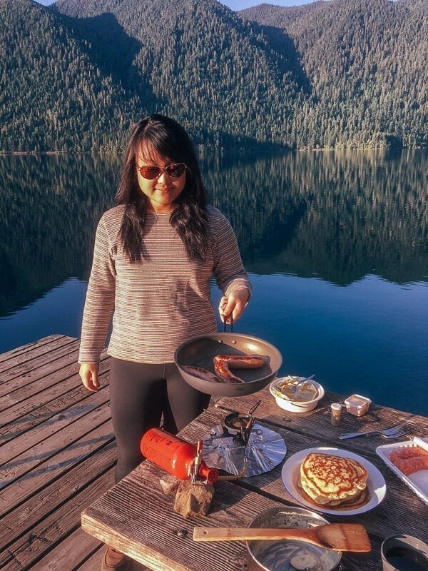 Camping Meals & The Art of Cooking Outside, by thewoksoflife.com