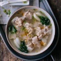 San Xian Wontons (Shrimp, Pork & Chicken Wontons)