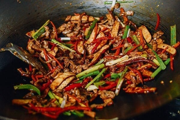 Shredded Pork with Five Spice Tofu, by thewoksoflife.com