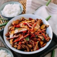 Five Spice Tofu with Shredded Pork (香干肉丝)