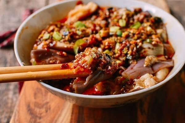 Hunan Steamed Eggplant, by thewoksoflife.com