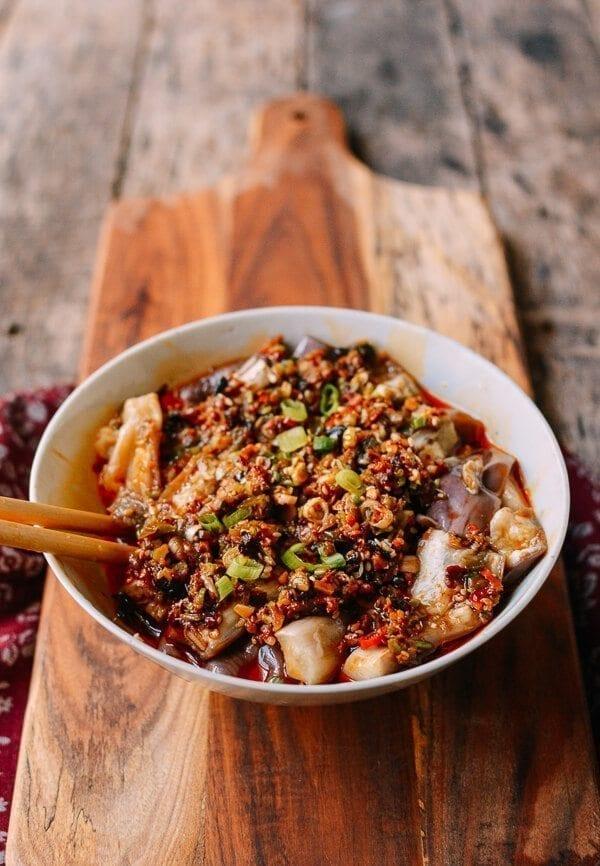 Hunan Steamed Eggplant, by thewoksoflife.com