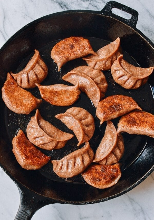 Whole Wheat Dumpling Wrappers, by thewoksoflife.com