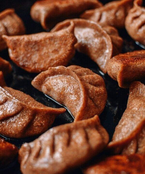 Whole Wheat Dumpling Wrappers, by thewoksoflife.com