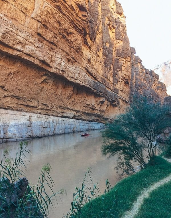 Santa Elena Canyon - Big Bend National Park - thewoksoflife.com