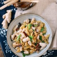 Squid Stir-Fry with Pickled Mustard Greens