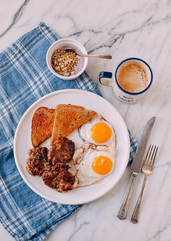 Our Homemade Breakfast Sausage Recipe, by thewoksoflife.com