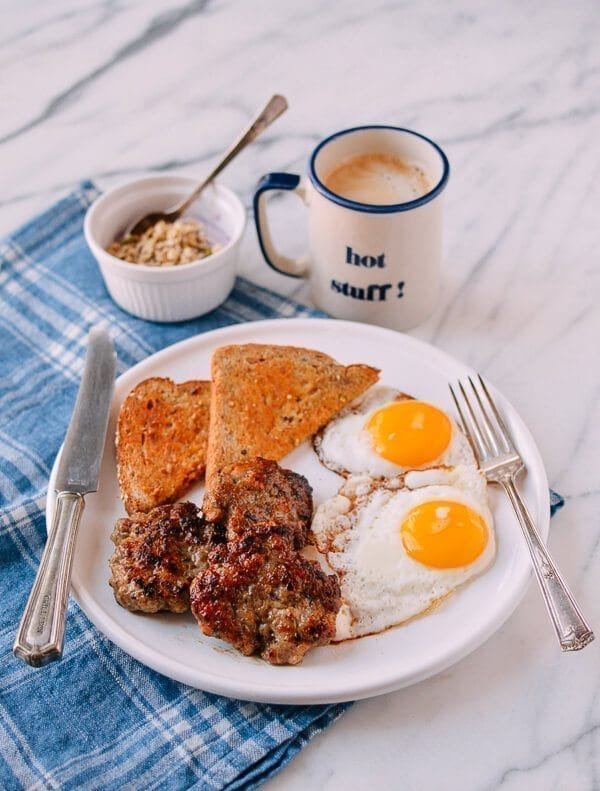 Our Homemade Breakfast Sausage Recipe, by thewoksoflife.com