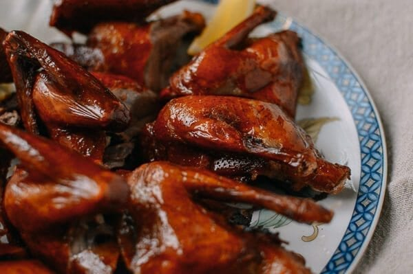 Chinese Fried Pigeon (Squab), by thewoksoflife.com