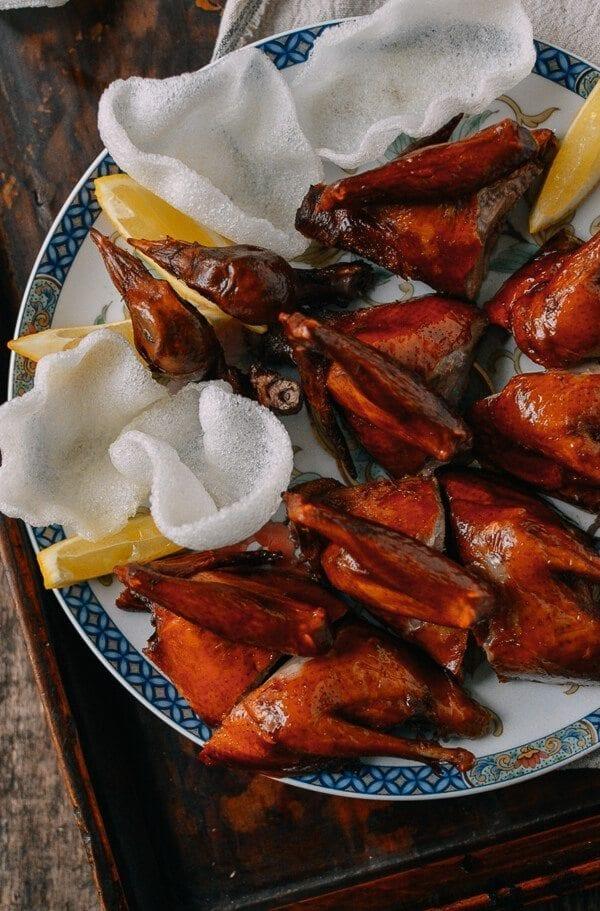 Chinese Fried Pigeon (Squab), by thewoksoflife.com