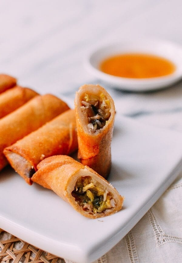 Shanghai Style Spring Rolls Recipe - The Woks of Life