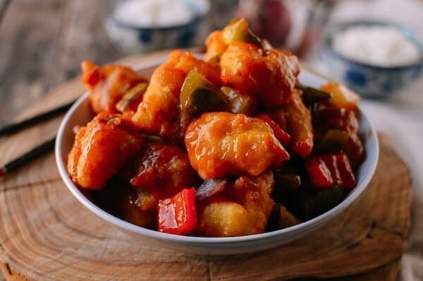 Sweet and Sour Fish Fillets, by thewoksoflife.com
