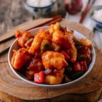 Chinese Sweet and Sour Fish Fillet Stir-fry