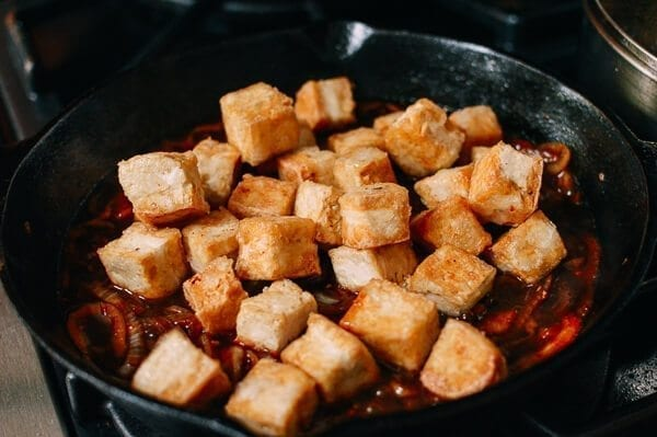 Teriyaki Tofu, by thewoksoflife.com
