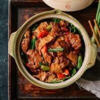 Chinese Braised Lamb Casserole, Hong-Kong Style