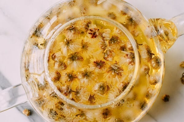 Chrysanthemum Tea Benefits (and How to Make It), by thewoksoflife.com