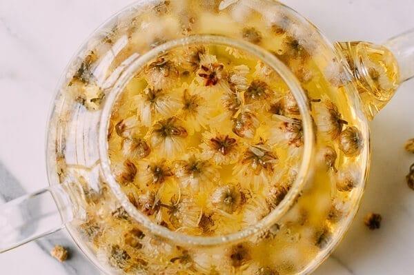 Chrysanthemum Tea Benefits (and How to Make It), by thewoksoflife.com