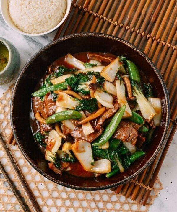 Beef Vegetable Stir-Fry, by thewoksoflife.com