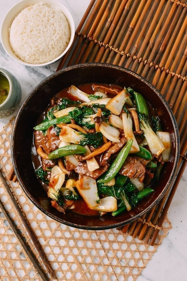 Beef Vegetable Stir-Fry, by thewoksoflife.com
