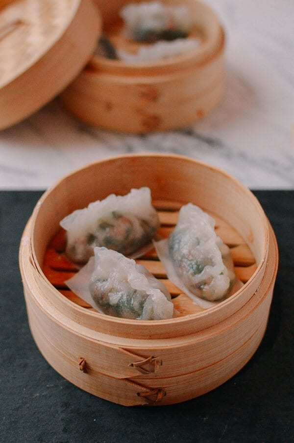 Steamed Crystal Dumplings, A Dim Sum Classic - The Woks of ...