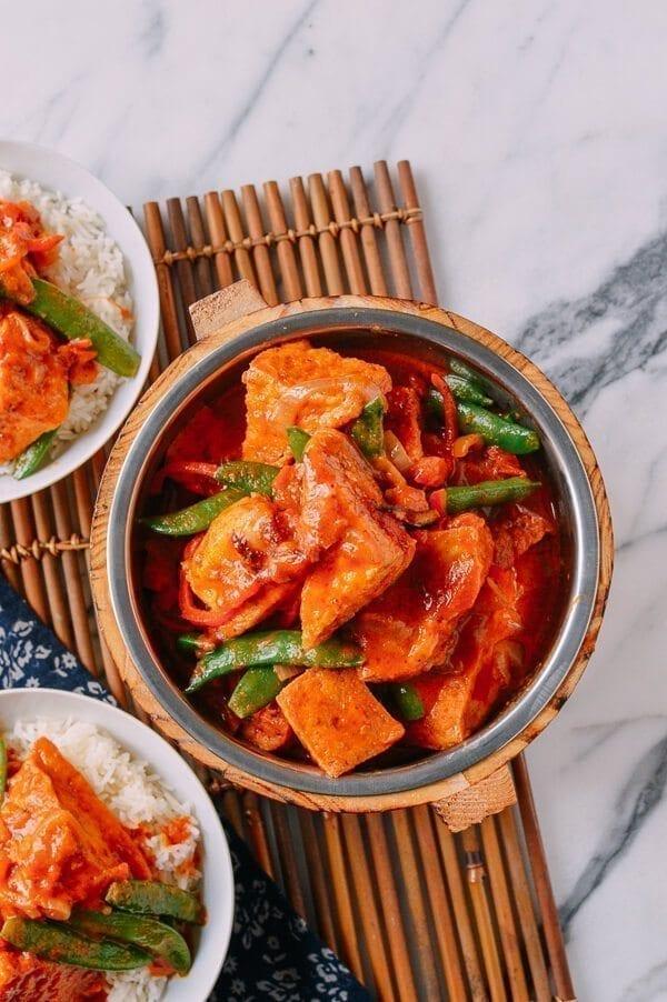 Red Curry Tofu (A Vegan Recipe!)