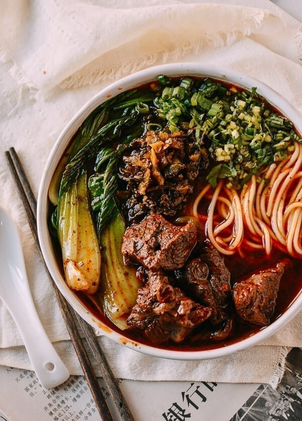 Taiwanese Beef Noodle Soup: In an Instant Pot or On the Stove