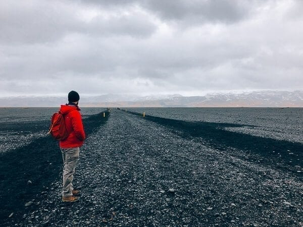 Sólheimasandur hike