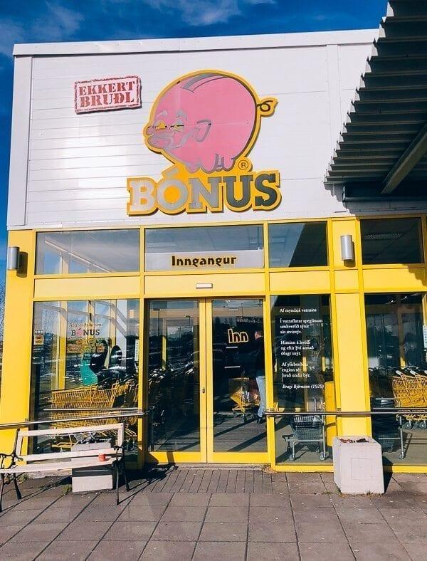 Bonus Iceland Grocery Store