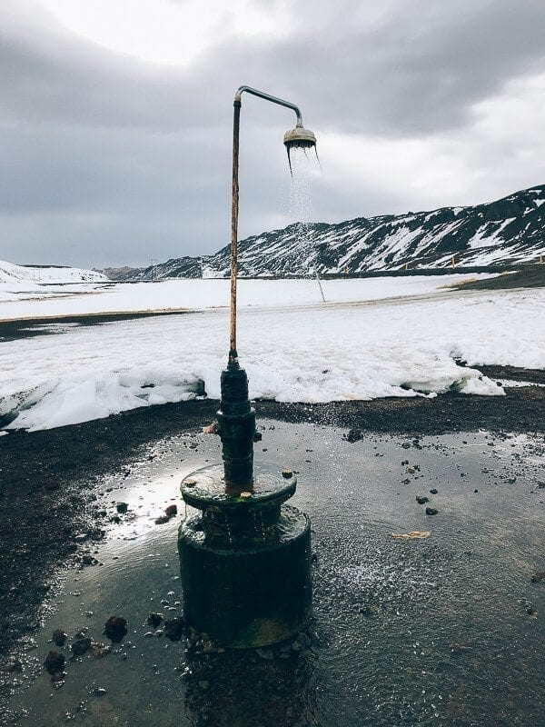 Perpetual Shower Iceland
