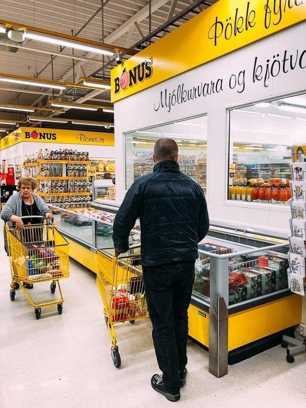 Bonus Supermarket Iceland