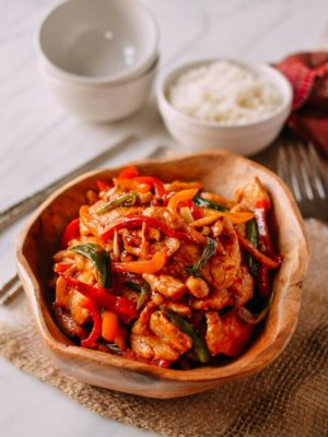 Thai Chili Sauce Chicken Stir-fry, by thewoksoflife.com