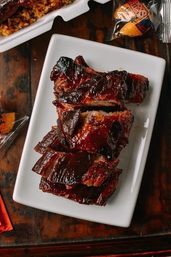 Chinese Rib Tips Fall Apart Tender Takeout Style The Woks Of Life
