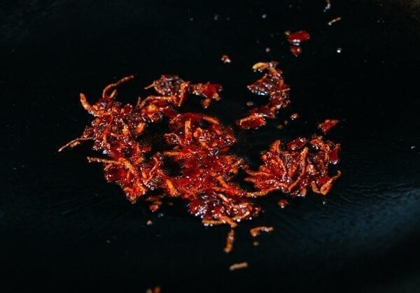 Dry Fried Sichuan Beef, by thewoksoflife.com