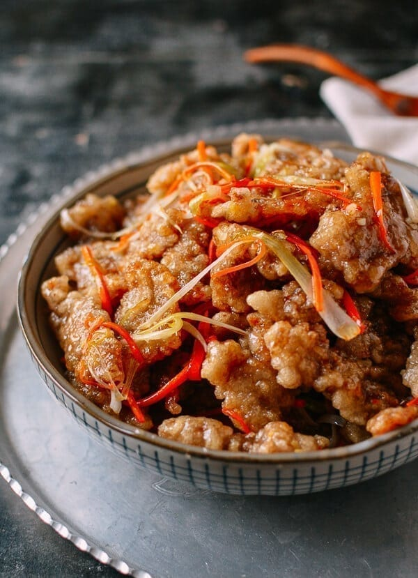 Dongbei Guo Bao Rou (Crispy Sweet & Sour Pork)