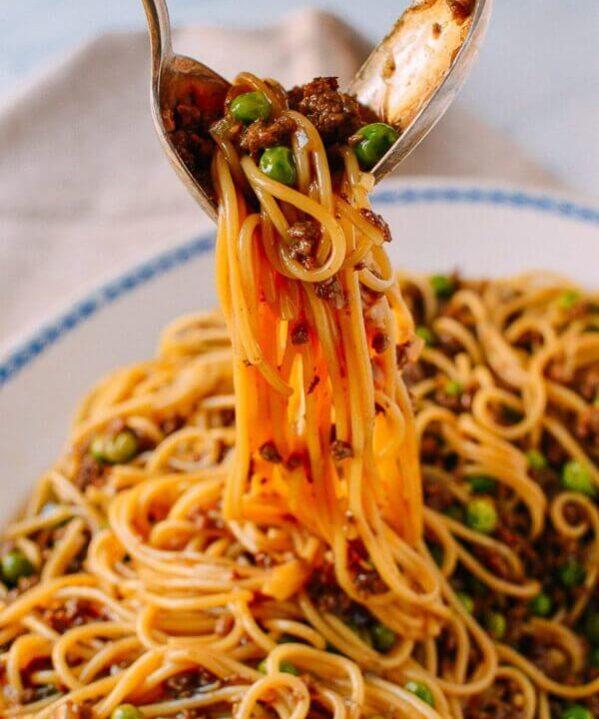 Chinese Spaghetti Bolognese