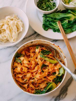 Hot Pot Sauce Noodles, by thewoksoflife.com