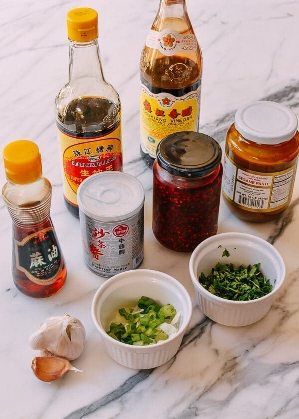 Hot Pot Sauce Noodles, by thewoksoflife.com