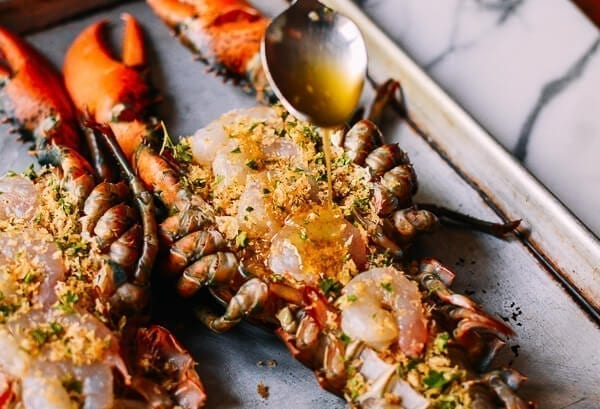 Baked Stuffed Lobster with Shrimp - The Woks of Life