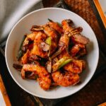 Ketchup Shrimp Stir-fry, by thewoksoflife.com