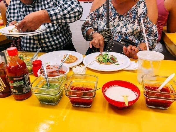 Mercado Coyoacan Tostadas