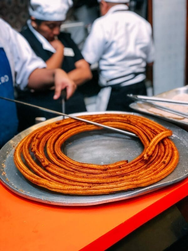 Churros El Moro Mexico City