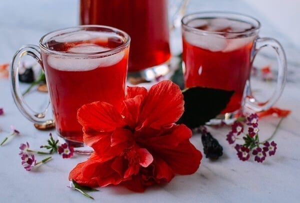 Sour Plum Drink (Suan Mei Tang - 酸梅汤), by thewoksoflife.com
