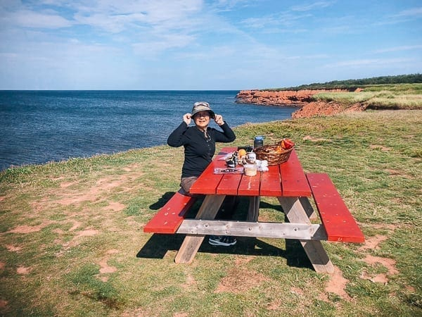 Prince Edward Island Canada - Red Cliffs and Potatoes by thewoksoflife.com
