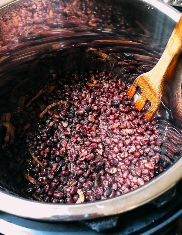 Sweet Red Bean Paste Recipe (In an Instant Pot), by thewoksoflife.com