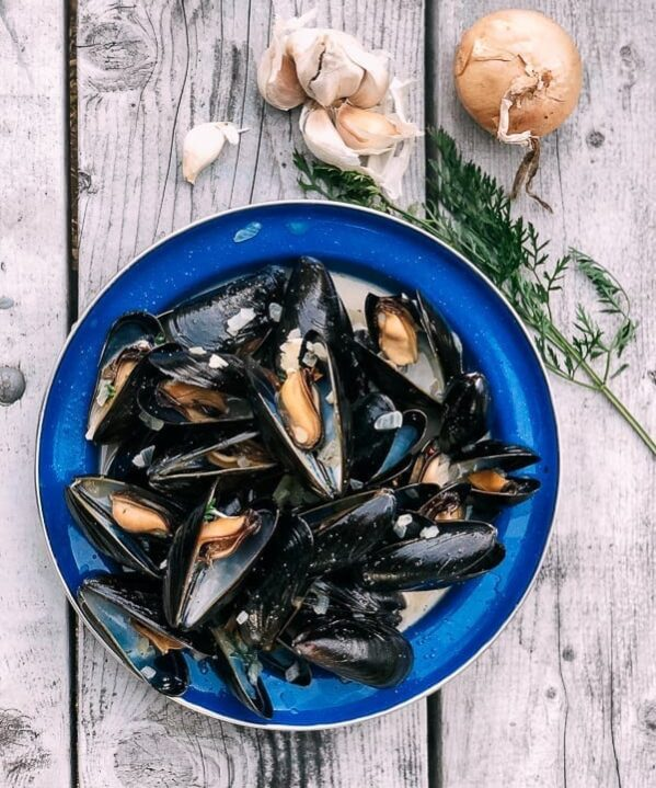 Steamed mussels are a delicious appetizer or main course and so quick and easy to make at home when armed with a few tips. Our favorites are PEI mussels, but as long as they're fresh, you can't go wrong.