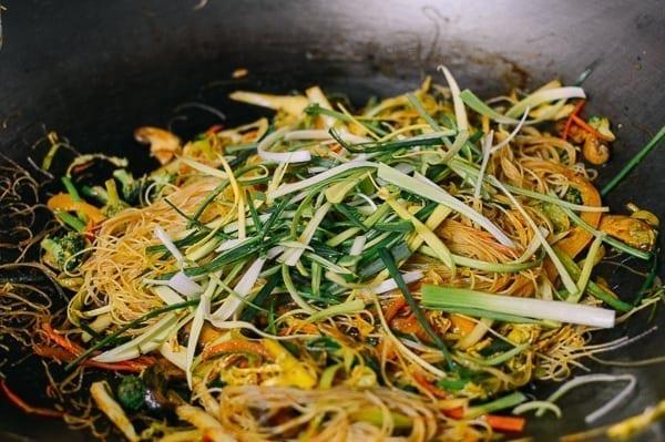 Vegetarian Singapore Noodles, by thewoksoflife.com