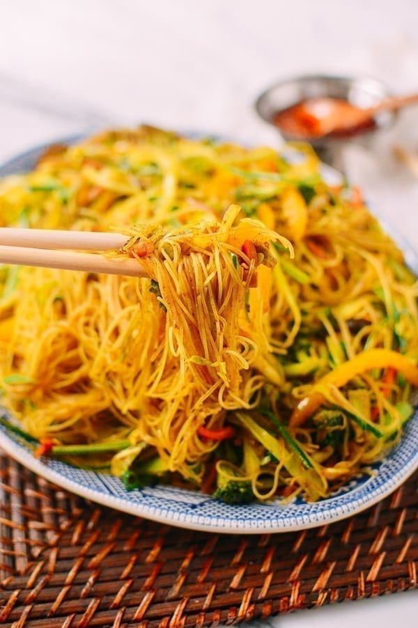 Vegetarian Singapore Noodles