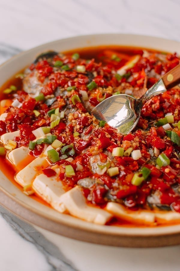 Steamed Tilapia: Hunan-Style Whole Fish, by thewoksoflife.com