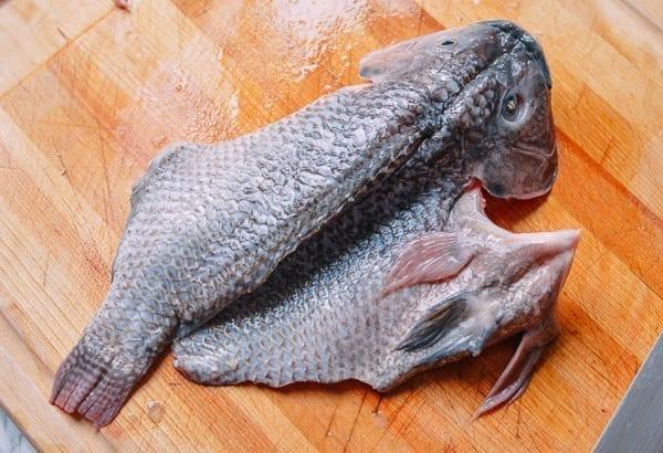 Steamed Tilapia: Hunan-Style Whole Fish, by thewoksoflife.com