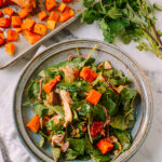 Thai Chicken Salad with Red Curry Butternut Squash
